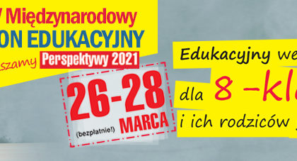 Thumbnail for the post titled: Weekend Perspektyw dla 8-klasistów