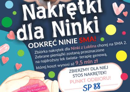 Thumbnail for the post titled: Zbiórka nakrętek
