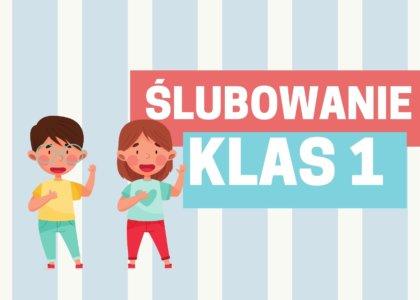 Thumbnail for the post titled: Ślubowanie klas 1